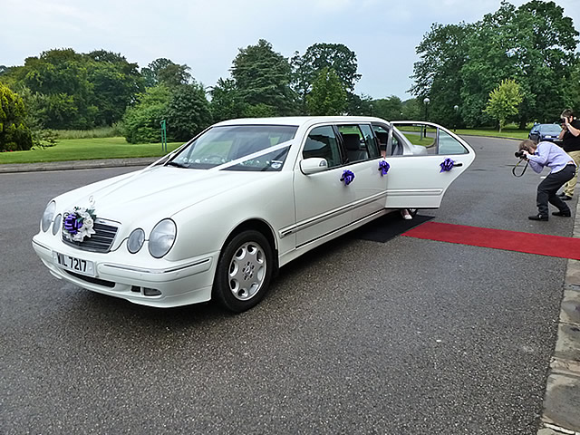Mercedes Saloon and Limousine